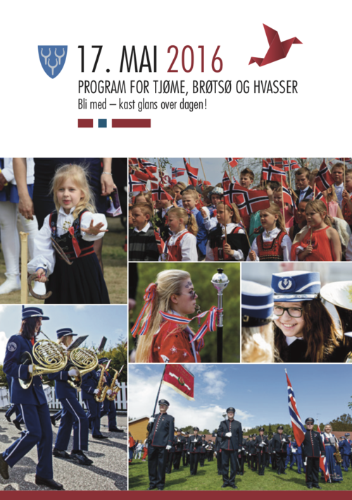17. mai program for Tjøme, Brøtsø og Hvasser 2016