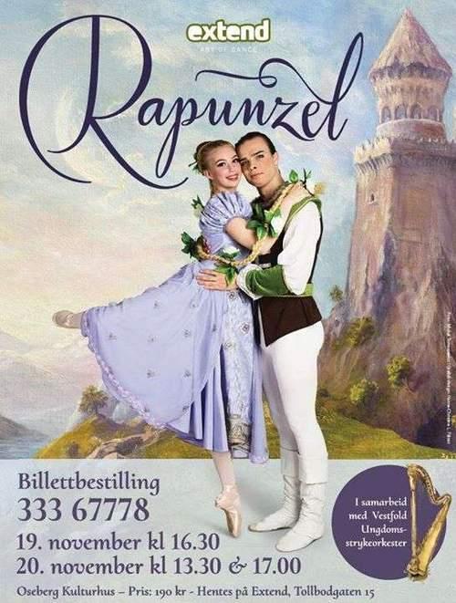 Rapunzel julen 2016