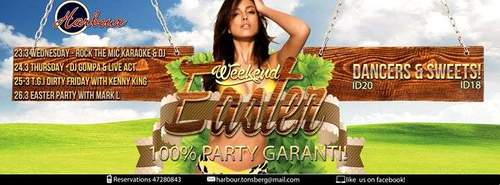 Dirty Easter Party Weekend