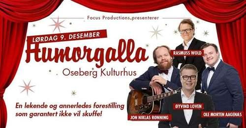 Humorgalla - Øyvind Loven, Jon Niklas Rønning m.fl
