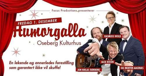 Humorgalla - Alex Rosèn, Jon Niklas Rønning m.fl