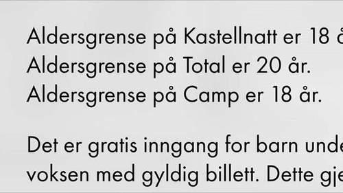 Aksjon mot Slottsfjells 18-årsgrense på camp - Kampen om Campen