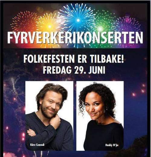Fyrverkerikonserten 2018