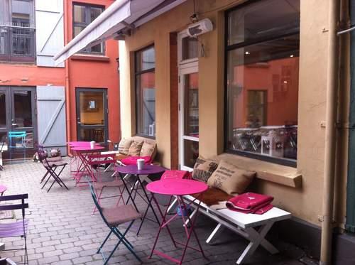 Bare Barista på Tønsberg stasjon