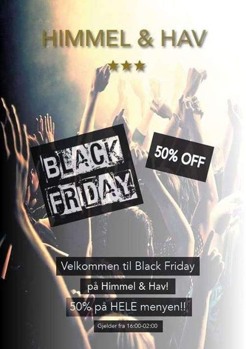 BLACK FRIDAY @ Himmel & Hav