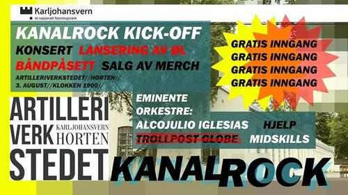 Kanalrock Kick-Off