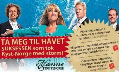Hanne & Tre Tenorer - Ta meg til havet