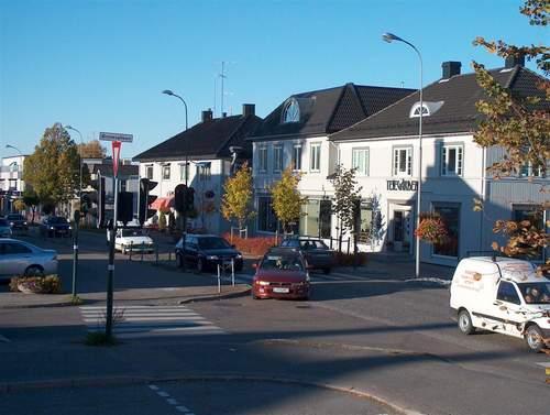 Utforming av gatearealene i Teie sentrum