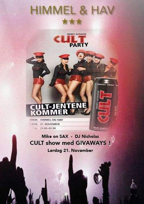 CULT PARTY@HIMMEL&HAV