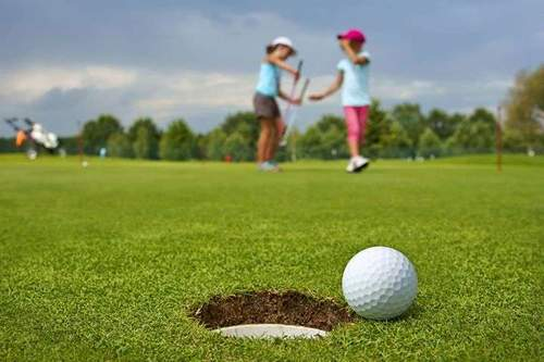 Golf! 6 til 9 år - Sommer for barn og ungdom