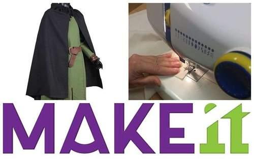 MAKEit: Sy din egen kappe