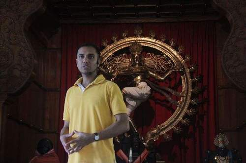 Yoga & Satsang med Rajesh