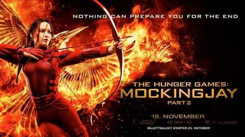 The Hunger Games; Mockingjay part 1 & 2