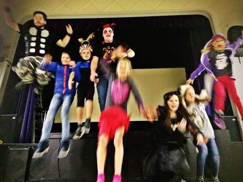 Teatersport og sjonglering