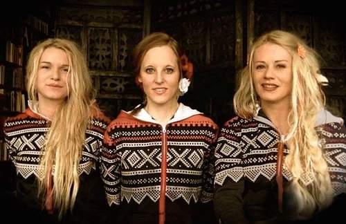 Unni Wilhelmsen, Solveig Heilo og Hanne Mari Karlsen