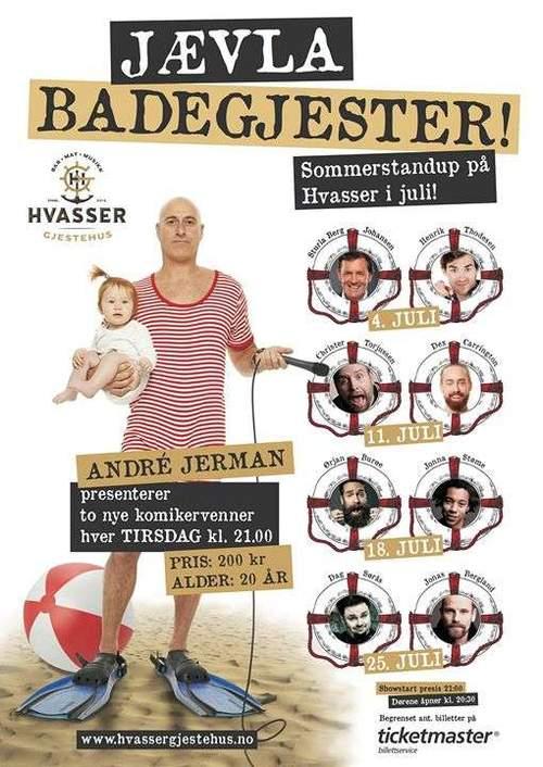 Jævla Badegjester! - med Ørjan Burøe og Jonna Støme