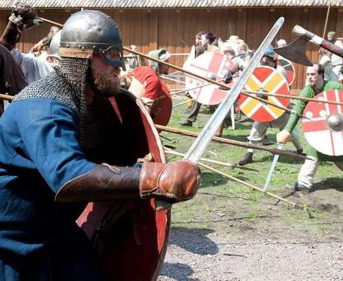 Vikingenes krigskunst