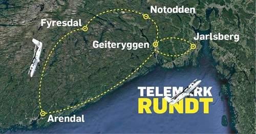Telemark Rundt - 5 innhopp