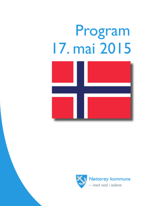 17. mai program Nøtterøy 2016