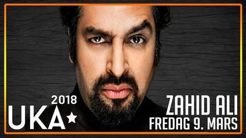 UKA 2018 // Stand Up med Zahid Ali