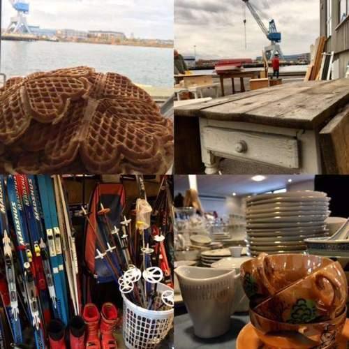 Loppemarked på Sjøormen