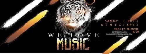 WE Love Music//Harbour Original
