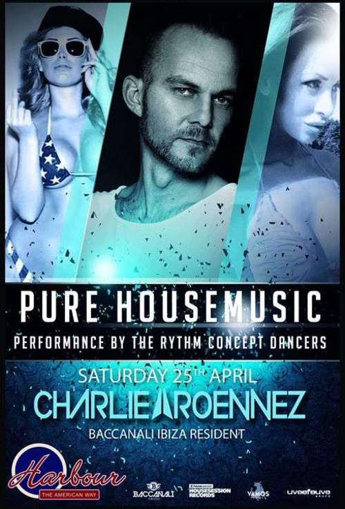 PURE HOUSEMUSIC // CHARLIE ROENNEZ // DANCERS
