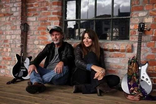 Henning Kvitnes og Claudia Scott