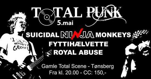 Suicidal Ninja Monkeys // Fyttihælvette // Royal Abuse