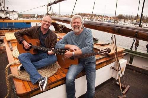 Louis Jacoby og Lars Martin Myhre
