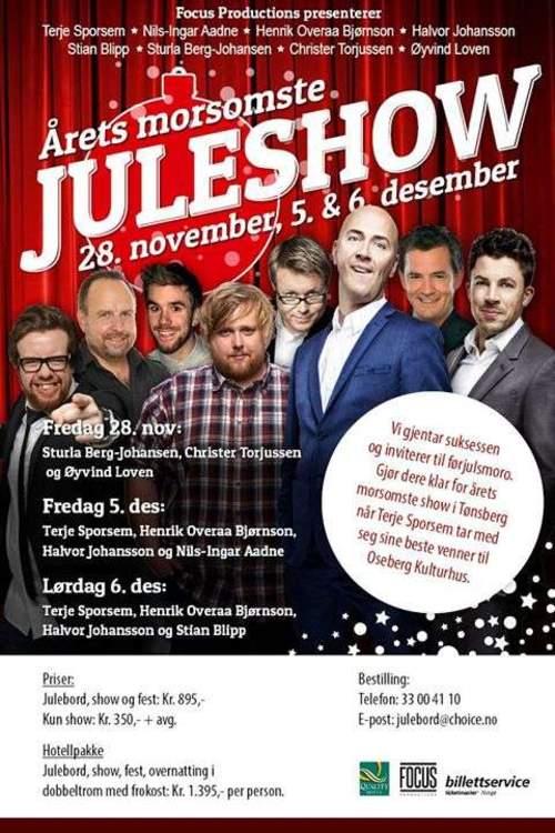 Julebord og Juleshow 2014