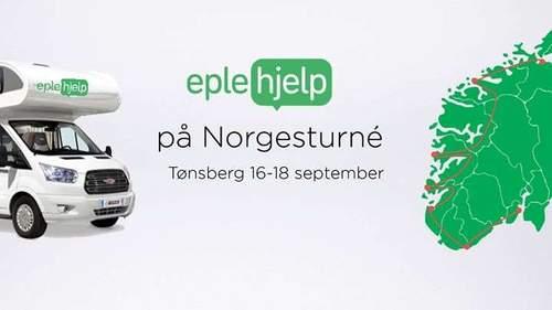 Eplehjelp kommer til Tønsberg