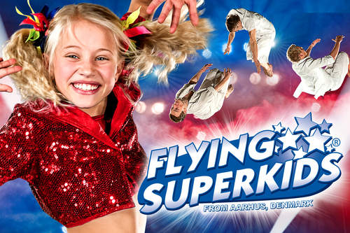 Flying Superkids - en forrykende forestilling for hele familien