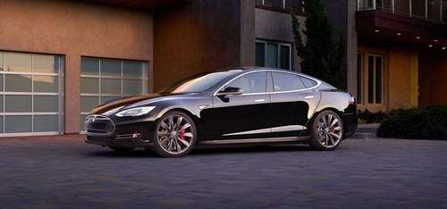 Prøvekjør Tesla Model S
