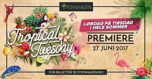 Tropical Tuesday - Slottsfjell Kick Off