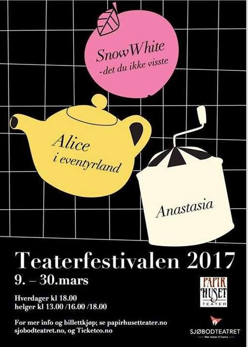 Teaterfestivalen fra torsdag 9. – torsdag 30. mars