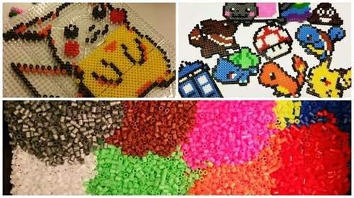Perleworkshop: Vi perler pixelart!