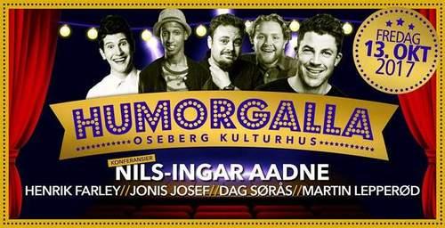 Humorgalla - Nils-Ingar Aadne, Dag Søras m.fl
