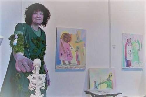 Kunstnersamtale og performance med Astrid Mørland