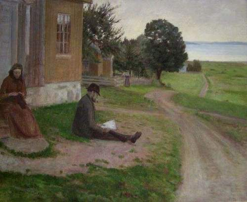 Slagen-maleren Sven Jørgensen