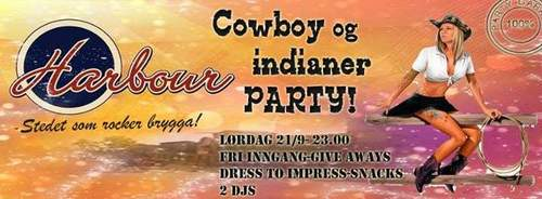 Cowboy & Indianer Party