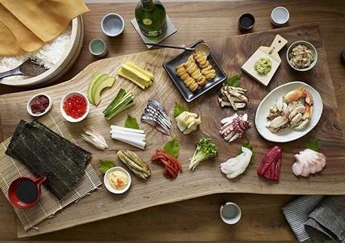 Pop-Up Postgirobygget Sushi & Sakebar Weekend