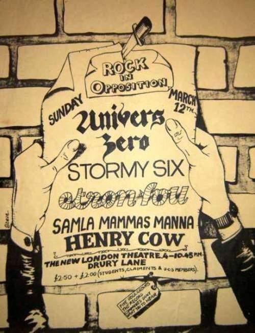Dypdykk i musikkhistorien, del 14: Rock in opposition