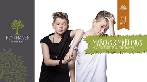 Marcus & Martinus med Morgan Sulele