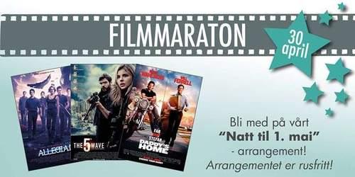 Filmmaraton natt til 1. mai