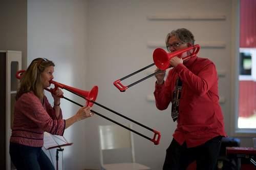 Musikkforestilling med Duo Juhuu