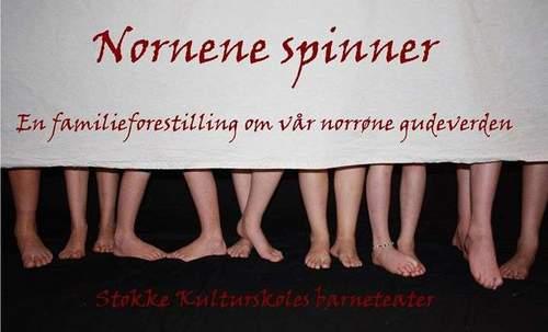Nornene spinner - en forestilling av Stokke Kulturskoles barneteater