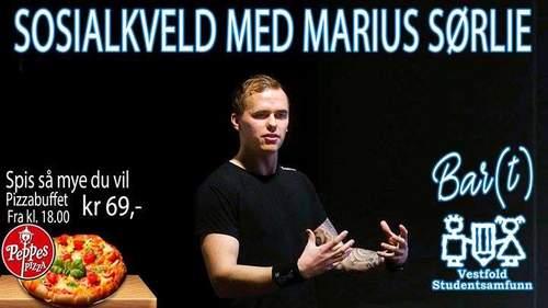 Sosialkveld med Marius Sørlie