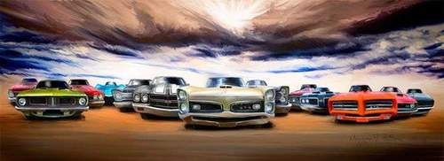 Natt til 1. mai Cruising - All American Cars