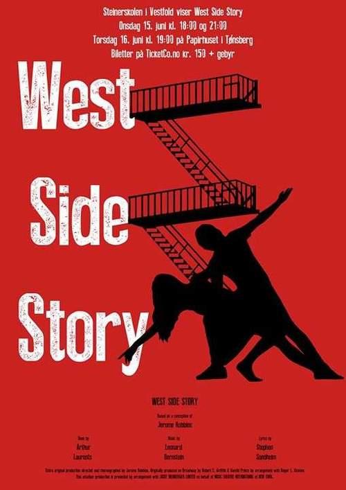 Steinerskolen i Vestfold viser West Side Story
